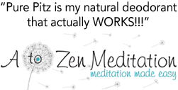 A to Zen Meditation